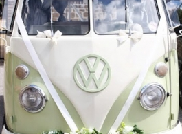 1964 VW Campervan for weddings in Fareham